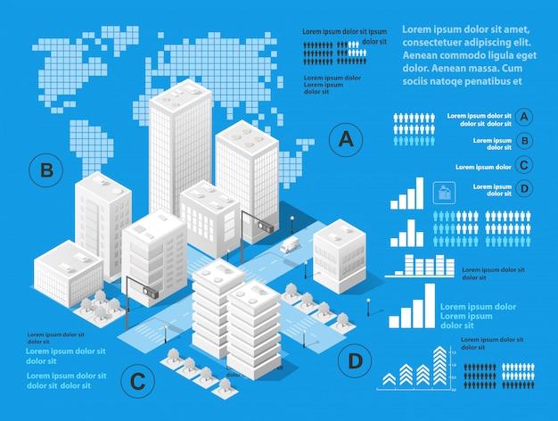 Ilustración vectorial de arquitectura