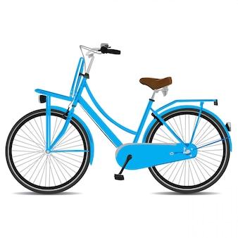 Ilustración vectorial de bicicleta