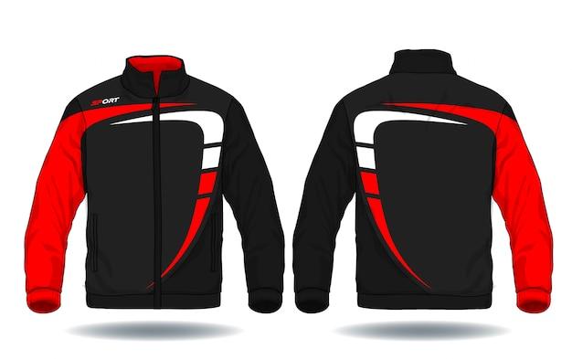 Ilustración vectorial de chaqueta deportiva