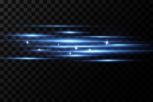 Ilustración vectorial de un color azul