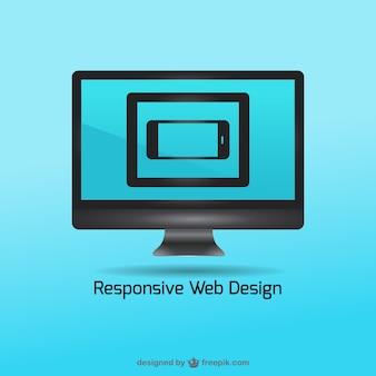 Ilustración vectorial de diseños responsivos