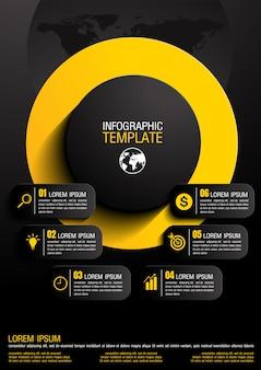 Ilustración vectorial infografía