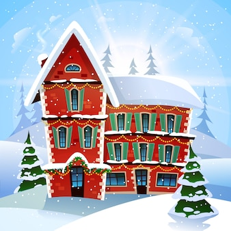 Ilustración vectorial de navidad