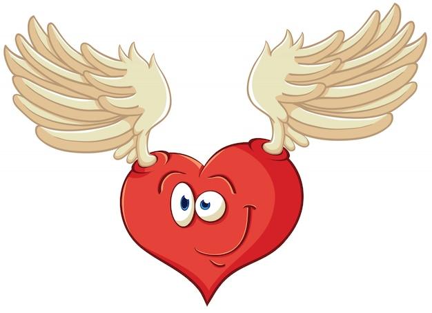 Ilustración vectorial sobre el corazón para el día de san valentín