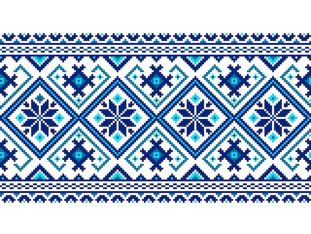 Ilustración vectorial de ucraniano folk patrón transparente ornamento.  ornamento étnico. elemento de borde. 1d629522e1a1c