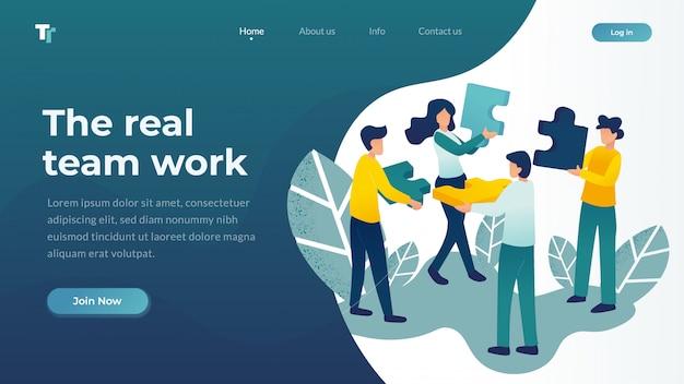 Ilustración vectorial web