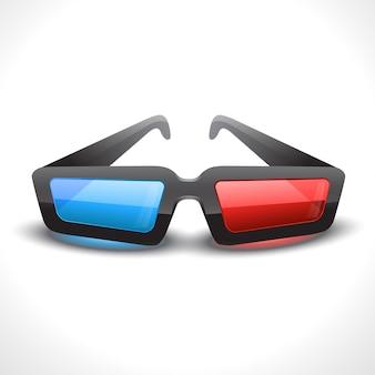 Ilustración de vidrio de cine