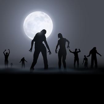Ilustración de zombie