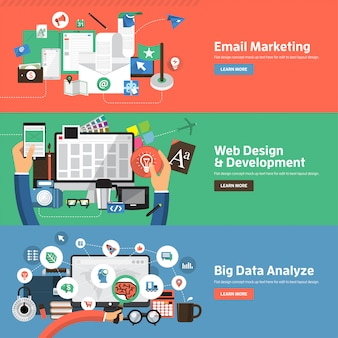 Ilustraciones de marketing digital