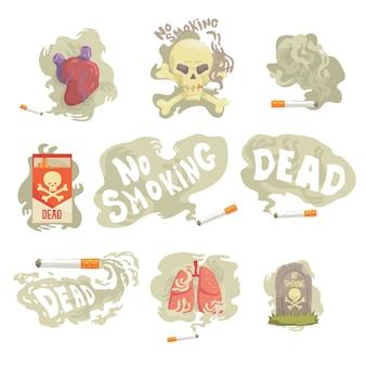 Ilustraciones sobre fondo blanco.