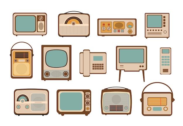 Ilustraciones vectoriales vintage