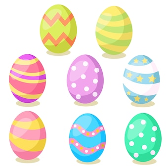 Ilustrador de huevos de pascua.