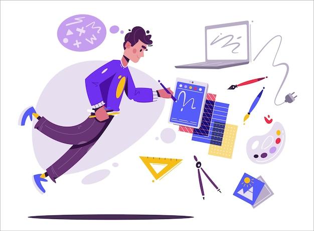 Ilustrador o artista digital