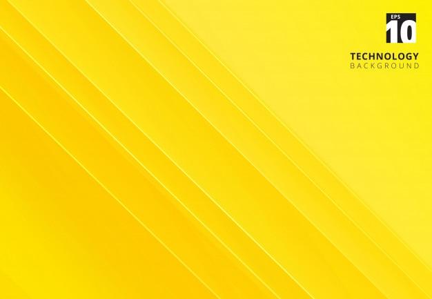 Imagen amarilla abstracta que representa tecnología