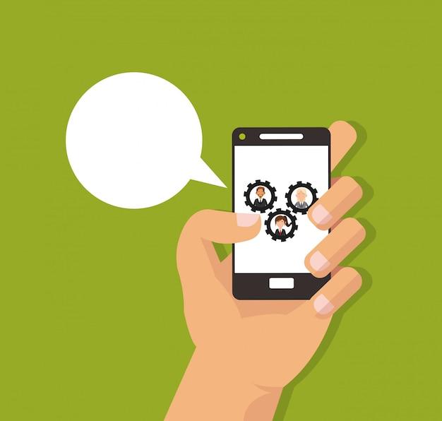 Imagen de los iconos relacionados con negocios