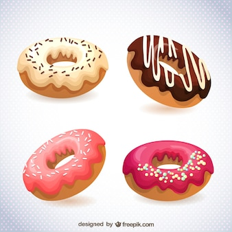 Imagen donuts formato vectorial