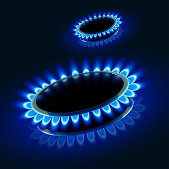 Imagen de estufa de gas