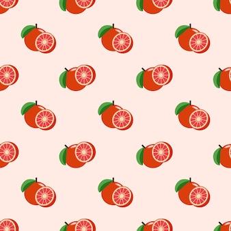 Imagen de fondo transparente colorido pomelo rojo de frutas tropicales