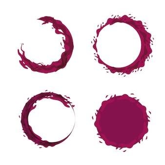 Imagen de icono de burbujas de vino
