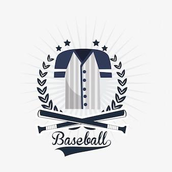 Imagen de los iconos relacionados con el béisbol