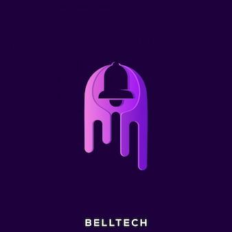 Impresionante bell tech logo
