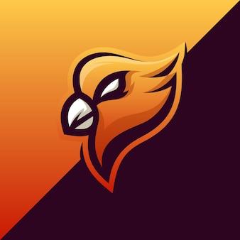 Impresionante diseño de ilustración de águila
