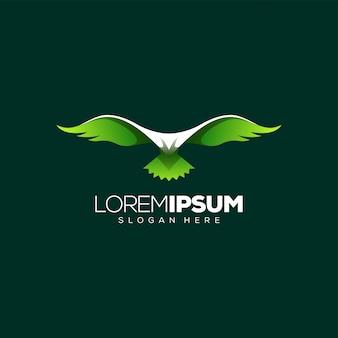 Impresionante diseño de logotipo de águila
