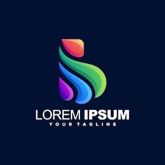 Impresionante diseño de logotipo en color b