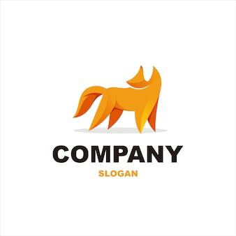 Impresionante diseño de logotipo de perro