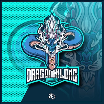 Impresionante dragon xilong gaming esports