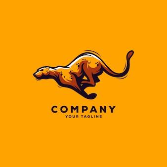 Impresionante logo de jaguar