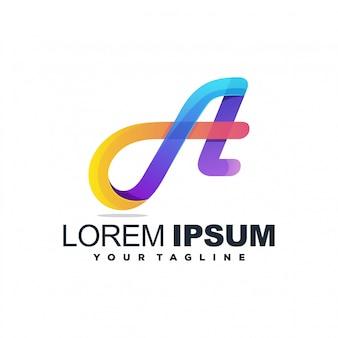Impresionante un logotipo de color