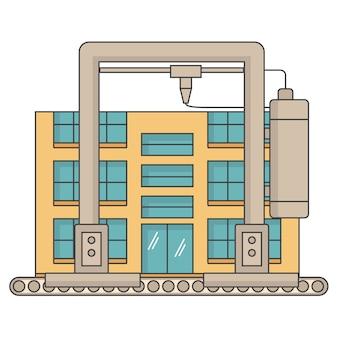 Impresora 3d construir una casa