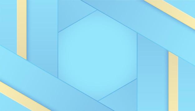 Imprimir diseño de vector de color de fondo geométrico pastel azul
