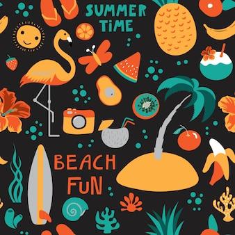 Imprimir horario de verano negro