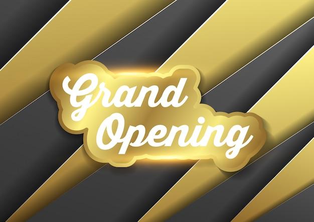 Inauguración de la ceremonia de negocios ilustración vectorial