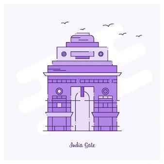 India gate landmark