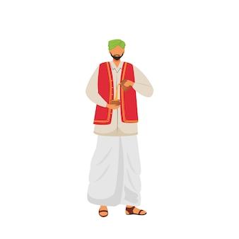 Indio masculino vertiendo masala chai
