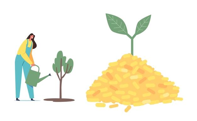 Industria de combustibles alternativos biológicos, negocio de producción de biocarbón