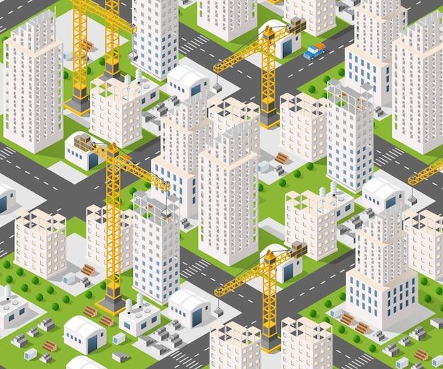 Industria de la construcción de grúas