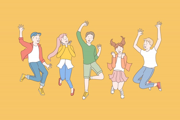 Infancia, amistad, fiesta