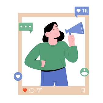 Influencer redes sociales