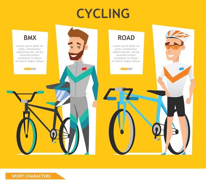 Info gráfico deporte ciclismo