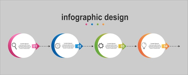 Info gráfico diagonal diseño negocio nuevo