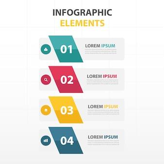 Infografía con 4 banners