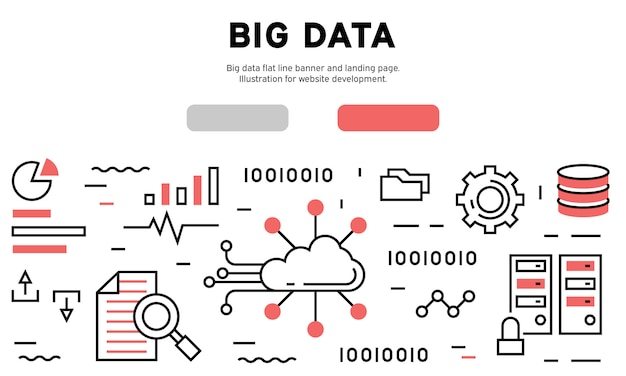 Infografía de big data