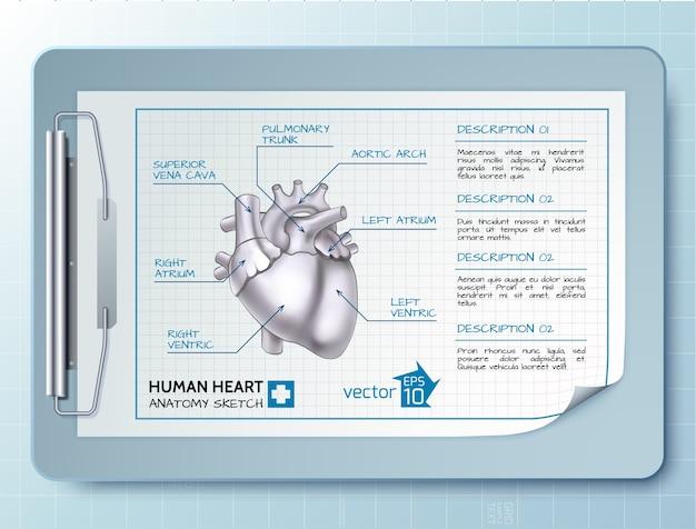 Infografía de ciencia médica