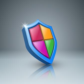 Infografía de negocios de protección