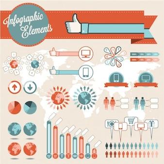 Infografía elementos