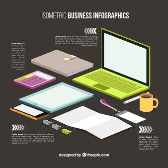 Infografía de espacio de trabajo